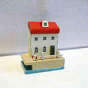 Сувениры и подарки ручной работы. Ярмарка Мастеров - ручная работа Домик у моря, декор интерьера. Handmade.