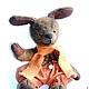 Мишки Тедди ручной работы. Авторская собака - тедди Апельсинчик друг мишек - тедди. Ангелина (куклы и мишки-тедди). Интернет-магазин Ярмарка Мастеров.