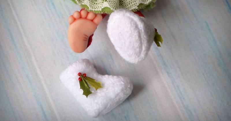 Валенки для куклы своими руками