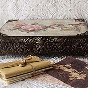 Для дома и интерьера handmade. Livemaster - original item A big box of letters and papers
