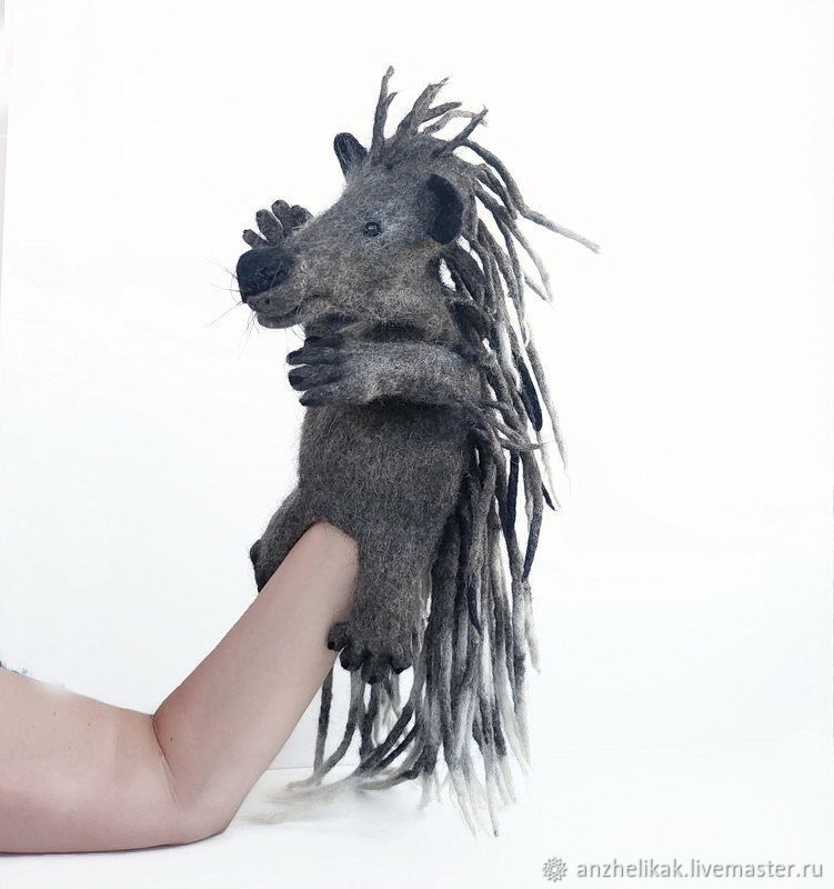 Porcupine glove toy, theater doll, puppet theater, Puppet show, Rostov-on-Don,  Фото №1