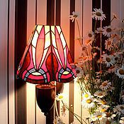 Для дома и интерьера handmade. Livemaster - original item Stained glass lamp. PHOENIX. Handmade.