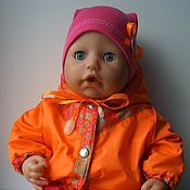 Куклы и игрушки ручной работы. Ярмарка Мастеров - ручная работа Комплект прогулочной одежды для беби Анабель (Baby Annabell). Handmade.
