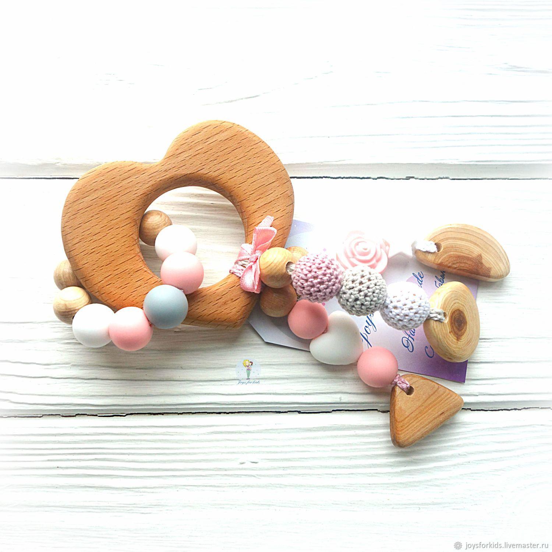 Diamond teether with heart, Teething toys, Bryansk,  Фото №1