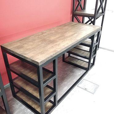 Мебель ручной работы. Ярмарка Мастеров - ручная работа Письменный стол. Handmade.