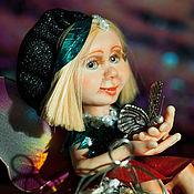 Куклы и игрушки ручной работы. Ярмарка Мастеров - ручная работа Фея бабочек Вивиана. Handmade.