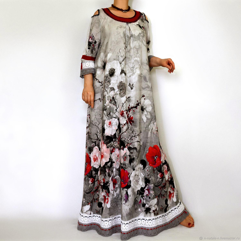 Платье Бохо. Платье длинное. Бохо образ. Платья. Платье макси. Бохо, Платья, Актау,  Фото №1