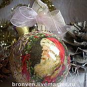 Подарки к праздникам handmade. Livemaster - original item Christmas toys, balls. Handmade.