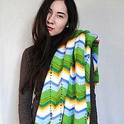 """Для дома и интерьера handmade. Livemaster - original item Plaid """"AWAKENING"""" from the Italian merino wool blend. Handmade."""
