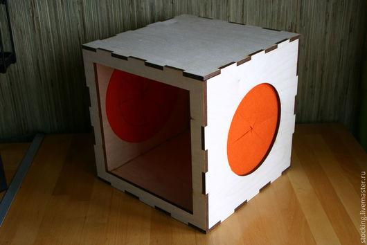 Развивающие игрушки ручной работы. Ярмарка Мастеров - ручная работа. Купить Развивающая игрушка Тактильный Куб.. Handmade. Развивающая игрушка