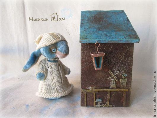 Кукольный дом ручной работы. Ярмарка Мастеров - ручная работа. Купить Дом №9. Handmade. Дом, Дом для кукол, уют