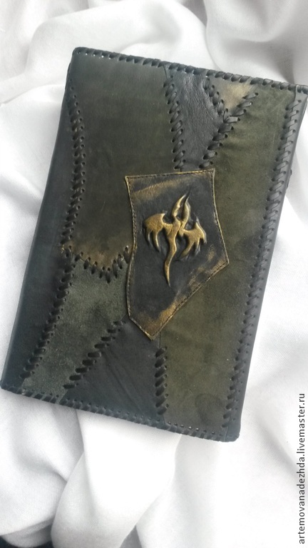 ready. This kit consists of a leather cover with the symbol of a Dragon and dated diary.