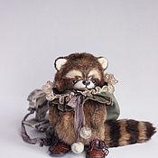 Куклы и игрушки ручной работы. Ярмарка Мастеров - ручная работа енот Риммус. Handmade.
