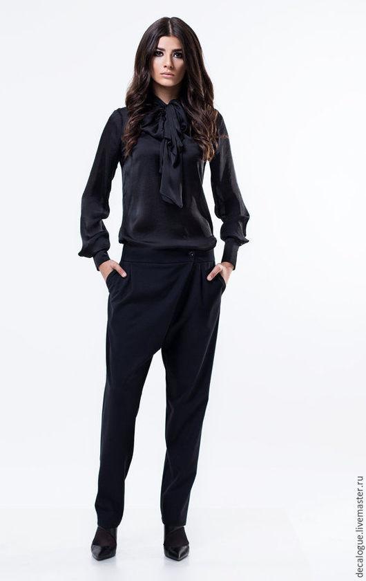 """Брюки, шорты ручной работы. Ярмарка Мастеров - ручная работа. Купить Элегантные брюки """"Bohemia"""". Handmade. Черный, модная одежда"""