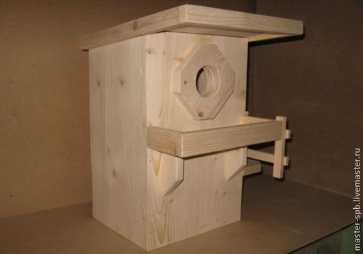 Бельчатник `Стандарт` - деревянный домик для белок