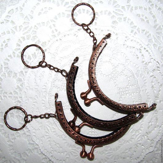 Другие виды рукоделия ручной работы. Ярмарка Мастеров - ручная работа. Купить Фермуар пришивной,медь 85 мм. Handmade.