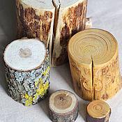 Пеньки из дерева