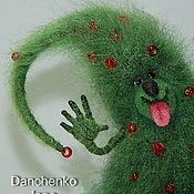 Подарки к праздникам ручной работы. Ярмарка Мастеров - ручная работа Ёлк Палыч - елка вязаная новогодняя. Handmade.