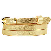 Аксессуары handmade. Livemaster - original item Copy of Copy of Copy of White leather belt. Handmade.