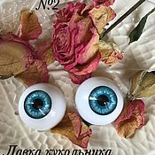 Материалы для творчества ручной работы. Ярмарка Мастеров - ручная работа Скидка! Глаза для кукол 22мм. Handmade.