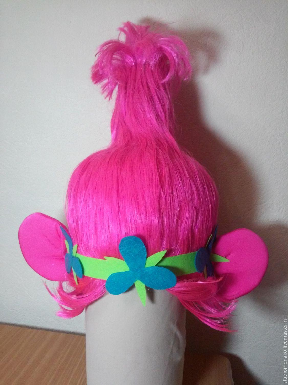 Как сделать парик тролля розочки своими руками фото 243