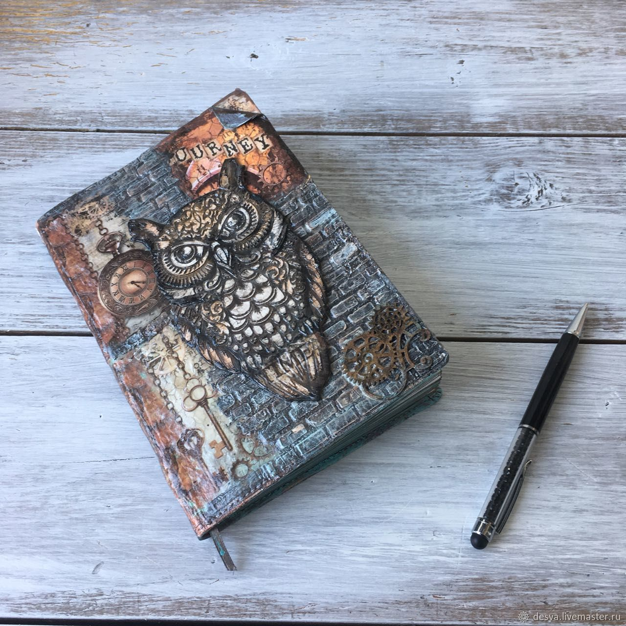 Diary 'Stories of the old owl', Diaries, Moscow,  Фото №1