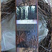 Канцелярские товары ручной работы. Ярмарка Мастеров - ручная работа Закладка для книг в стиле Стимпанк(№6). Handmade.