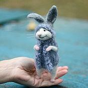 Куклы и игрушки ручной работы. Ярмарка Мастеров - ручная работа Мышонок с ушками:). Handmade.
