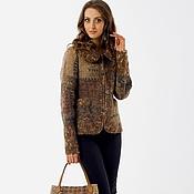 """Одежда ручной работы. Ярмарка Мастеров - ручная работа Жакет """"Олива"""" + сумка. Handmade."""