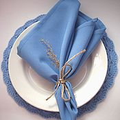 Для дома и интерьера handmade. Livemaster - original item Tablecloths, napkins, paths, napkins. Handmade.