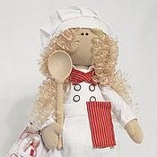 Куклы и игрушки handmade. Livemaster - original item Doll-cook. Interior doll. Handmade.