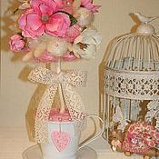 Подарки к праздникам ручной работы. Ярмарка Мастеров - ручная работа Когда магнолии цветут, сердца влюбленных воспылают.. Handmade.