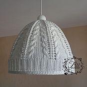 Для дома и интерьера handmade. Livemaster - original item Knitted lampshade