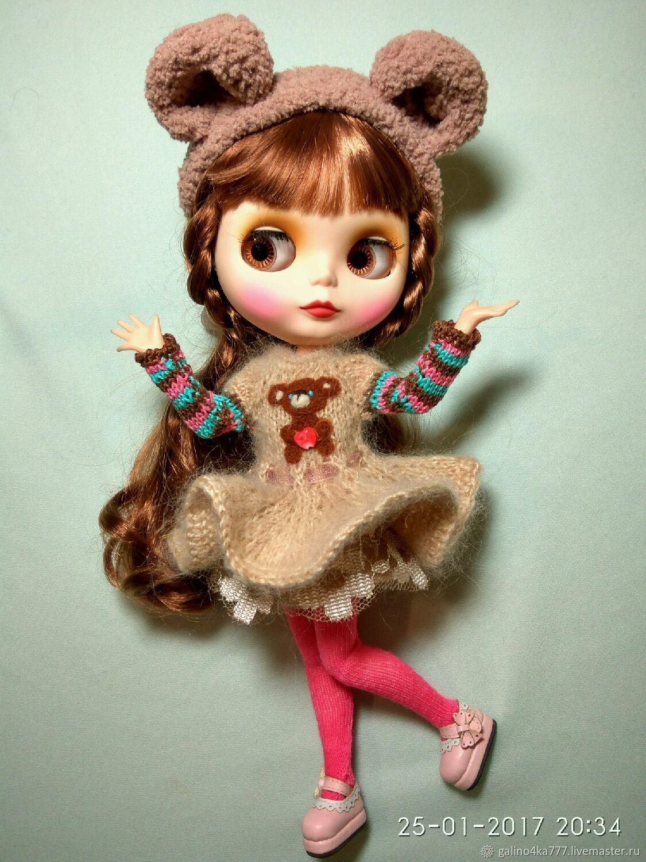 Как сделать мишку для кукол фото 844