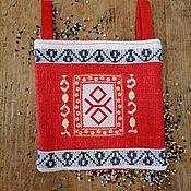 Русский стиль handmade. Livemaster - original item Lukomnik with symbols of PROTECTION, CHUR.. Handmade.