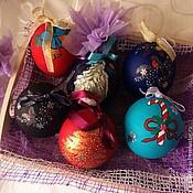 """Сувениры и подарки ручной работы. Ярмарка Мастеров - ручная работа Шар """"Новогодний"""". Handmade."""
