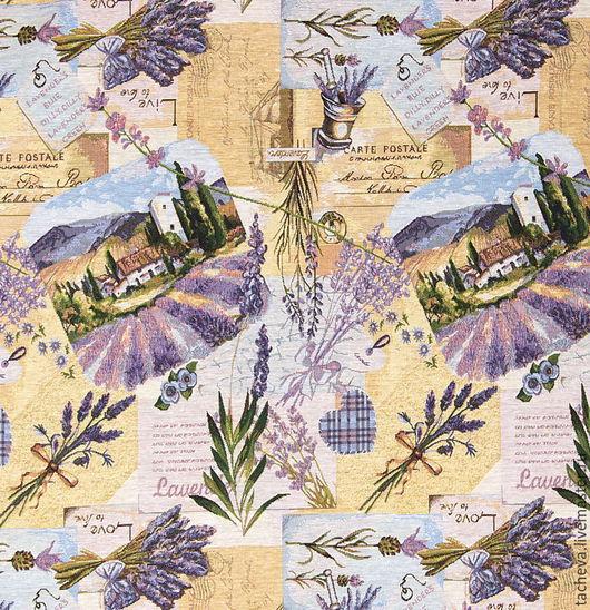 Текстиль, ковры ручной работы. Ярмарка Мастеров - ручная работа. Купить Покрывало гобеленовое-  поля прованса. Handmade. Комбинированный