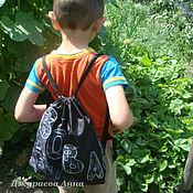 Работы для детей, ручной работы. Ярмарка Мастеров - ручная работа Рюкзачок  для мальчика (от 4-х лет). Handmade.