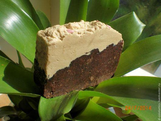 `шоколад и нуга` омолаживающее молочно-кремовое мыло-скраб