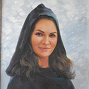 Картины и панно ручной работы. Ярмарка Мастеров - ручная работа Портрет восточной женщины, портрет на заказ. Handmade.