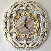 Для дома и интерьера handmade. Livemaster - original item wall clock