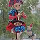 Коллекционные куклы ручной работы. Коломбина. Радуга Гульнара Мухтарова (Rainbow-Dolls). Интернет-магазин Ярмарка Мастеров. коллекционная кукла