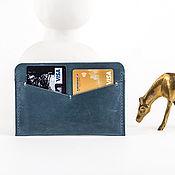 Канцелярские товары handmade. Livemaster - original item Leather cover for the driver`s documents and cards holder documents. Handmade.
