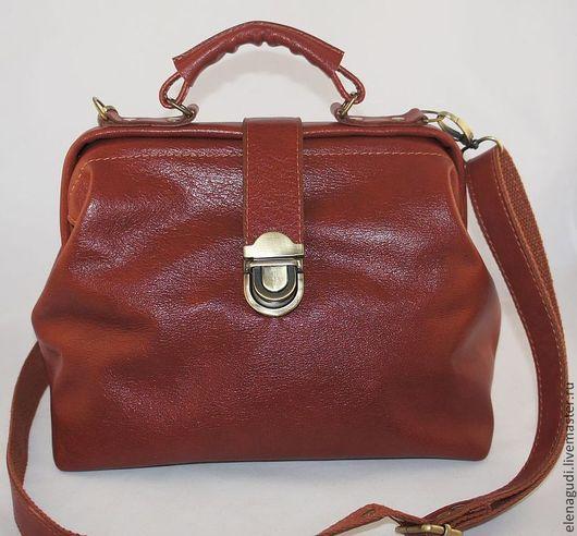 Женские сумки ручной работы. Ярмарка Мастеров - ручная работа. Купить Саквояж. Handmade. Коричневый, саквояж купить, хлопок американский