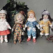 Куклы и игрушки ручной работы. Ярмарка Мастеров - ручная работа Новогодние детки. продано. Handmade.
