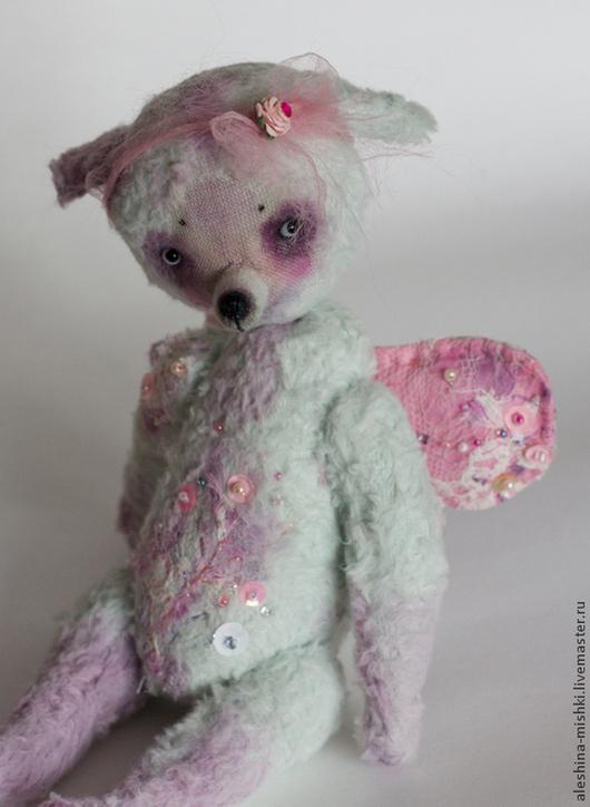 Мишки Тедди ручной работы. Ярмарка Мастеров - ручная работа. Купить Вивьен. Handmade. Розовый, собачка, вискоза