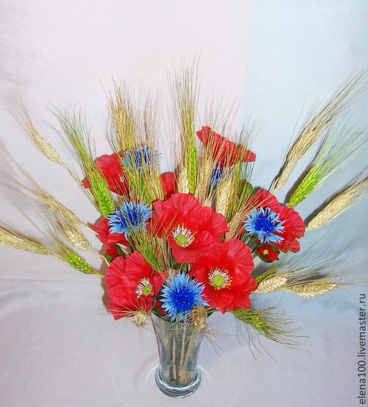 """Цветы ручной работы. Ярмарка Мастеров - ручная работа. Купить """" ЗАПАХ ЛЕТА"""" -моя керамическая флористика. Handmade. Разноцветный"""