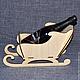 НГ-014. Сани для шампанского.