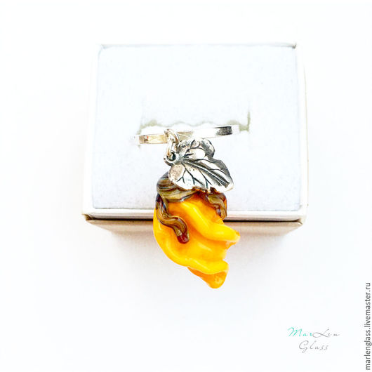 Кольца ручной работы. Ярмарка Мастеров - ручная работа. Купить Кольцо Персидская роза. Handmade. Желтый, кольцо с цветком