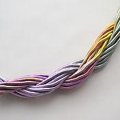 Материалы для творчества handmade. Livemaster - original item Thick viscose cord (no. №24), price per 1 meter. Handmade.